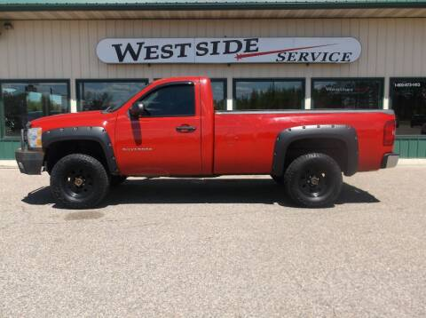 2010 Chevrolet Silverado 1500 for sale at West Side Service in Auburndale WI