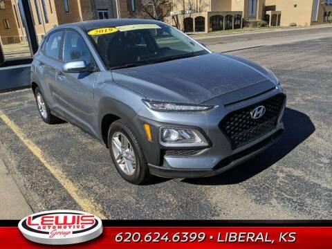 2019 Hyundai Kona for sale at Lewis Chevrolet Buick Cadillac of Liberal in Liberal KS