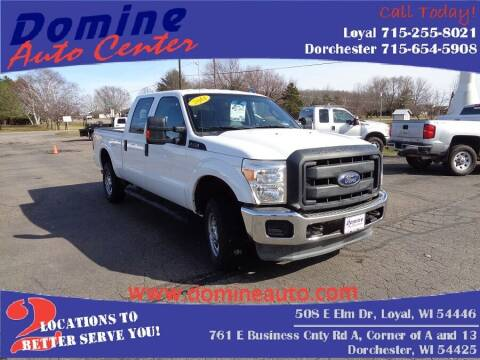 2014 Ford F-250 Super Duty for sale at Domine Auto Center in Loyal WI