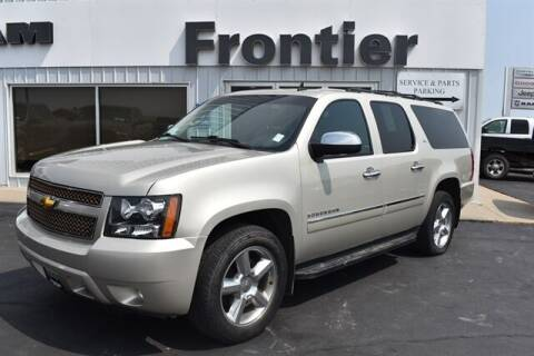2014 Chevrolet Suburban for sale at Frontier Motors Automotive, Inc. in Winner SD