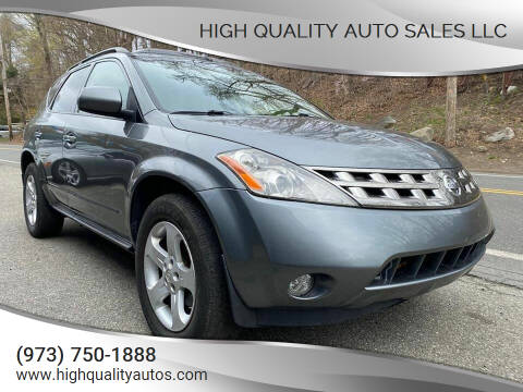 2005 Nissan Murano for sale at High Quality Auto Sales LLC in Bloomingdale NJ