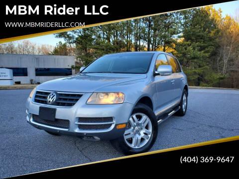 2007 Volkswagen Touareg for sale at MBM Rider LLC in Alpharetta GA