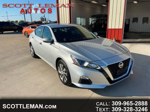 2020 Nissan Altima for sale at SCOTT LEMAN AUTOS in Goodfield IL