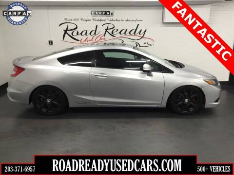 2012 Honda Civic for sale at Road Ready Used Cars in Ansonia CT