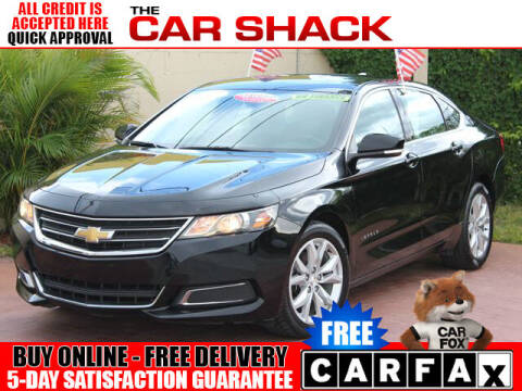 2017 Chevrolet Impala for sale at The Car Shack in Hialeah FL