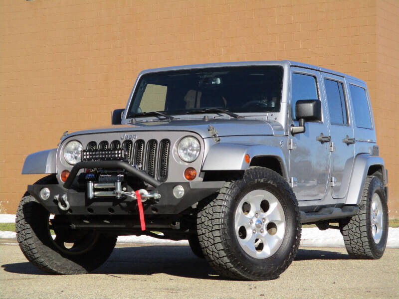 2013 Jeep Wrangler Unlimited for sale at Autohaus in Royal Oak MI
