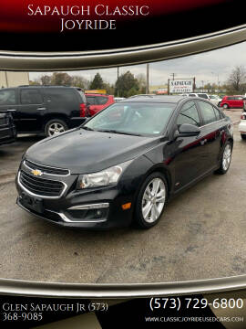 2015 Chevrolet Cruze for sale at Sapaugh Classic Joyride in Salem MO