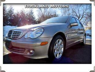 2006 Mercedes-Benz C-Class for sale at Rockland Automall - Rockland Motors in West Nyack NY