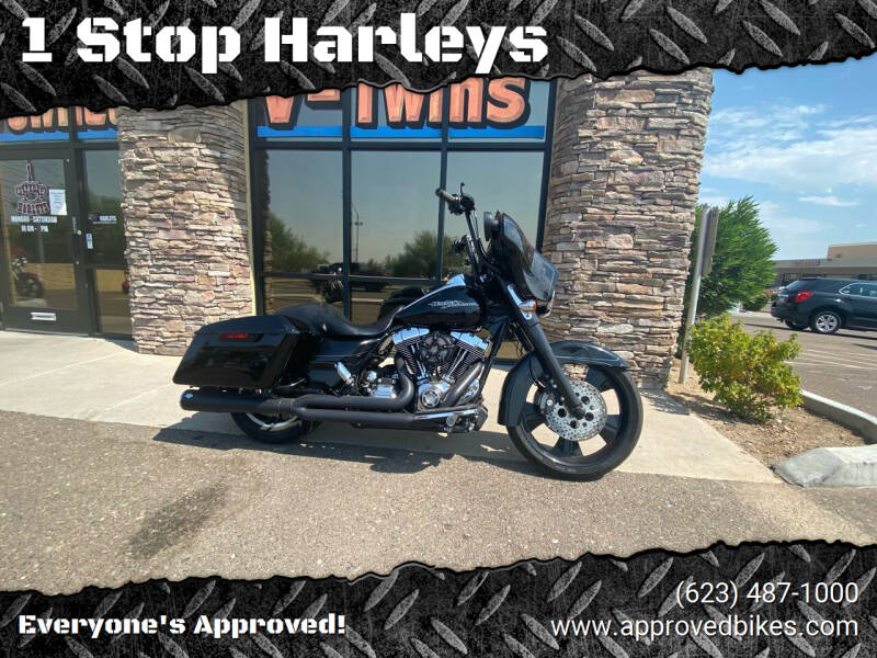 2015 Harley Davidson Street Glide for sale at 1 Stop Harleys in Peoria AZ