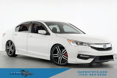 2016 Honda Accord for sale at JumboAutoGroup.com - Carsntoyz.com in Hollywood FL