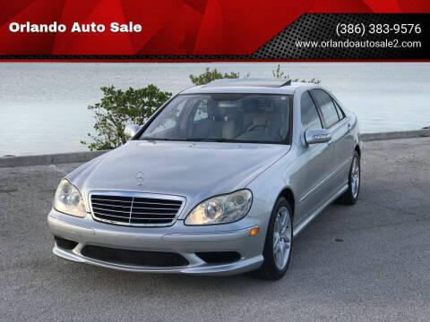 2006 Mercedes-Benz S-Class for sale at Orlando Auto Sale in Port Orange FL