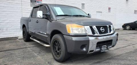 2009 Nissan Titan for sale at ADVANTAGE AUTO SALES INC in Bell CA