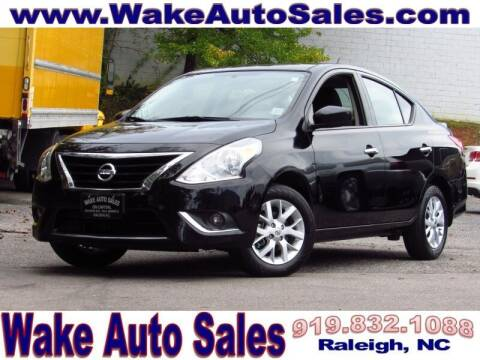 2018 Nissan Versa for sale at Wake Auto Sales Inc in Raleigh NC