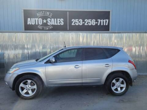 2004 Nissan Murano for sale at Austin's Auto Sales in Edgewood WA