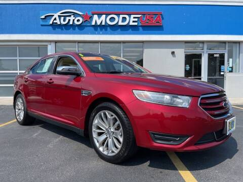 2014 Ford Taurus for sale at AUTO MODE USA-Monee in Monee IL