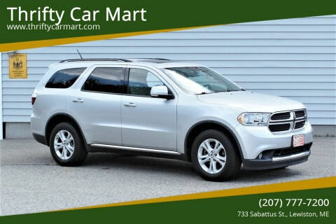 2011 Dodge Durango for sale at Thrifty Car Mart in Lewiston ME