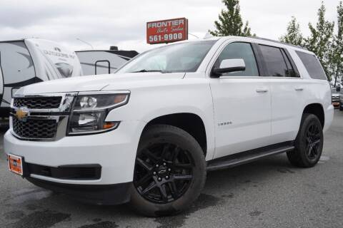 2017 Chevrolet Tahoe for sale at Frontier Auto & RV Sales in Anchorage AK