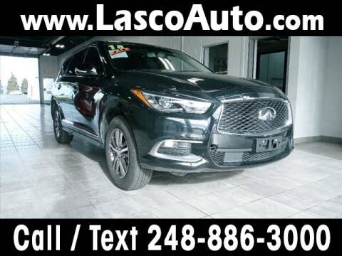 2018 Infiniti QX60 for sale at Lasco of Waterford in Waterford MI