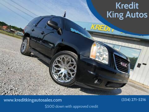 2012 GMC Yukon for sale at Kredit King Autos in Montgomery AL