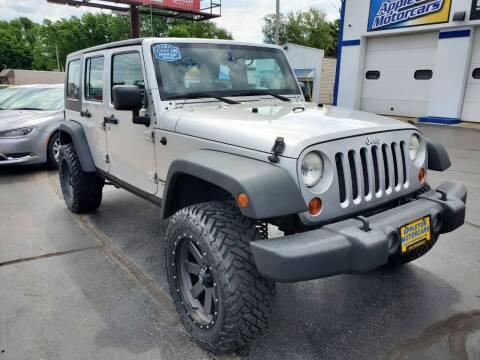 2008 Jeep Wrangler Unlimited for sale at Appleton Motorcars Sales & Service in Appleton WI