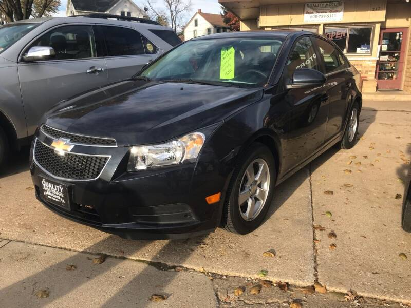 2014 Chevrolet Cruze for sale at QUALITY MOTORS in Benton WI