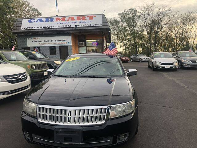 2007 Lincoln MKZ for sale at CARMART of Smyrna in Smyrna DE