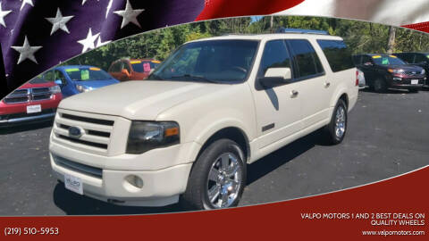 2008 Ford Expedition EL for sale at Valpo Motors Inc. in Valparaiso IN