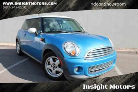 2011 MINI Cooper for sale at Insight Motors in Tempe AZ