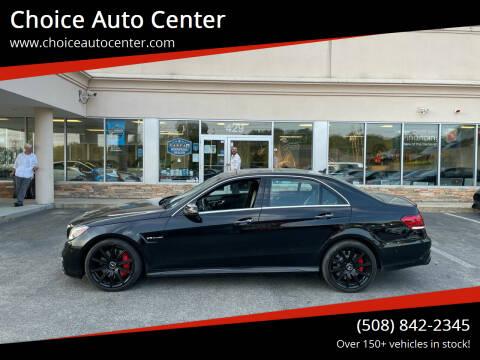 2014 Mercedes-Benz E-Class for sale at Choice Auto Center in Shrewsbury MA