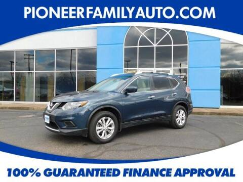 2016 Nissan Rogue for sale at Pioneer Family auto in Marietta OH