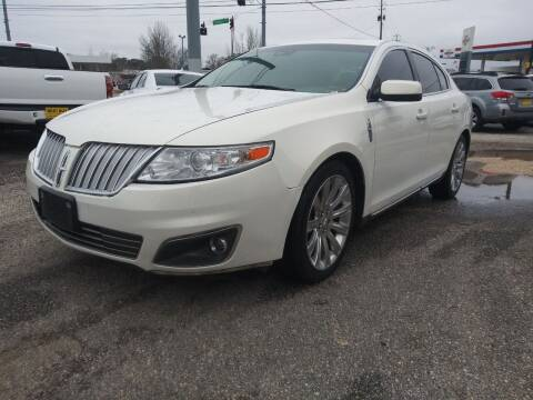 2012 Lincoln MKS for sale at Best Buy Autos in Mobile AL