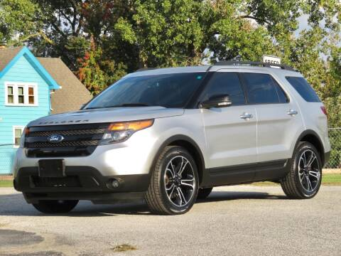 2014 Ford Explorer for sale at Tonys Pre Owned Auto Sales in Kokomo IN