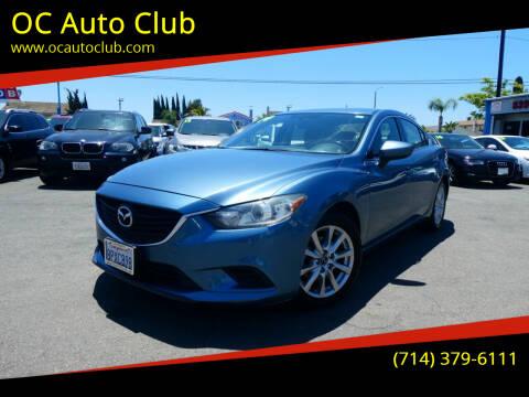 2014 Mazda MAZDA6 for sale at OC Auto Club in Midway City CA