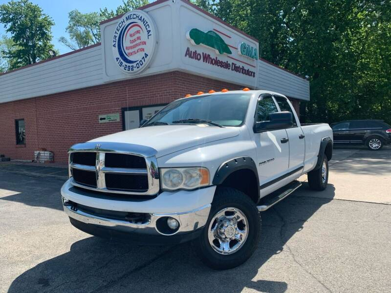 2004 Dodge Ram Pickup 2500 for sale at GMA Automotive Wholesale in Toledo OH