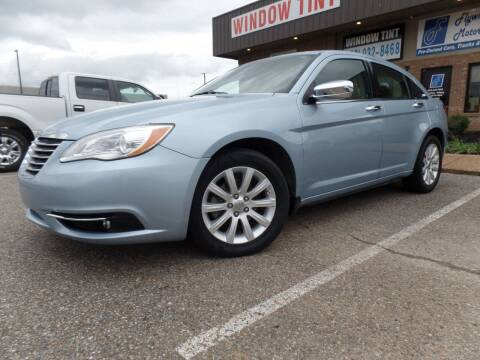 2013 Chrysler 200 for sale at Flywheel Motors, llc. in Olive Branch MS