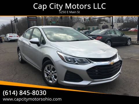 2019 Chevrolet Cruze for sale at Cap City Motors LLC in Columbus OH