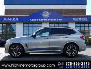 2020 BMW X3 M for sale at Highline Group Motorsports in Lowell MA
