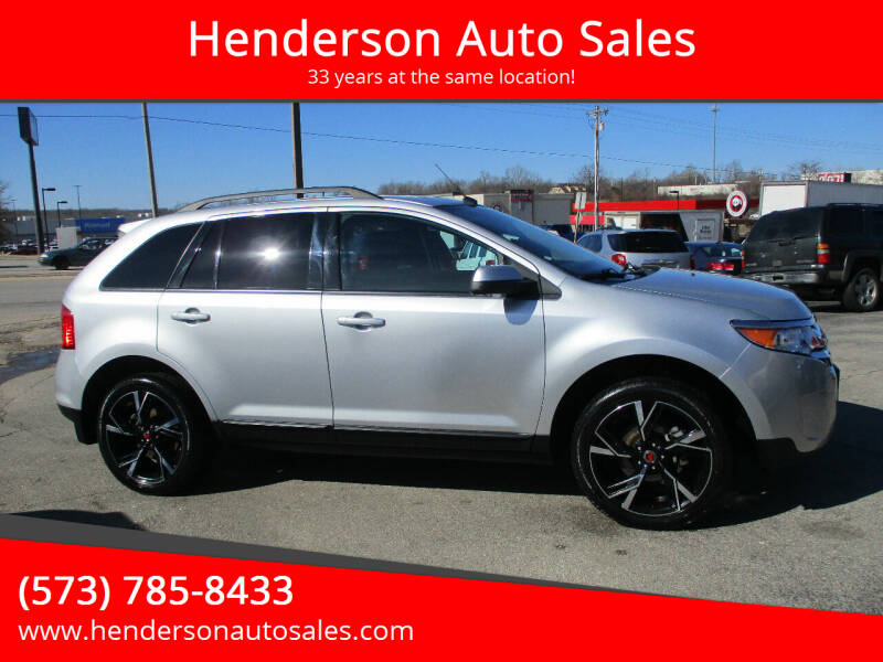 2013 Ford Edge for sale at Henderson Auto Sales in Poplar Bluff MO