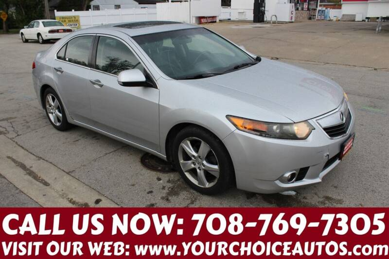 2011 Acura TSX for sale at Your Choice Autos in Posen IL