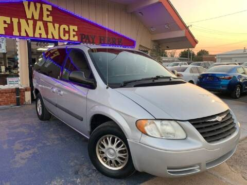 2005 Chrysler Town and Country for sale at Caspian Auto Sales in Oklahoma City OK