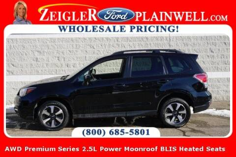 2017 Subaru Forester for sale at Zeigler Ford of Plainwell- Jeff Bishop in Plainwell MI