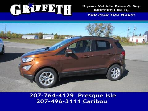 2019 Ford EcoSport for sale at Griffeth Mitsubishi - Pre-owned in Caribou ME