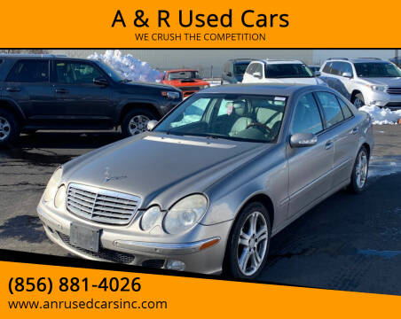 2004 Mercedes-Benz E-Class for sale at A & R Used Cars in Clayton NJ