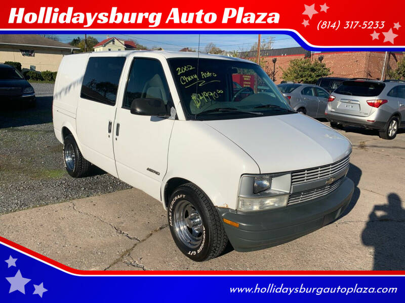 2002 Chevrolet Astro Cargo for sale at Hollidaysburg Auto Plaza in Hollidaysburg PA