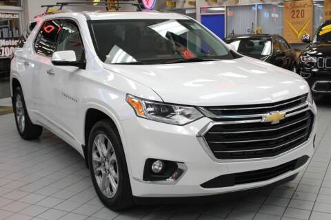 2018 Chevrolet Traverse for sale at Windy City Motors in Chicago IL