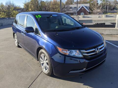 2015 Honda Odyssey for sale at QC Motors in Fayetteville AR