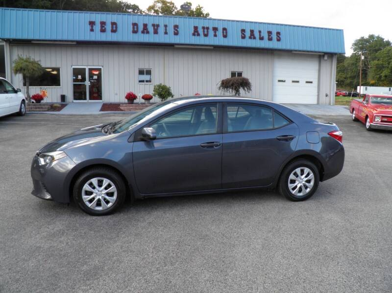 2016 Toyota Corolla for sale at Ted Davis Auto Sales in Riverton WV