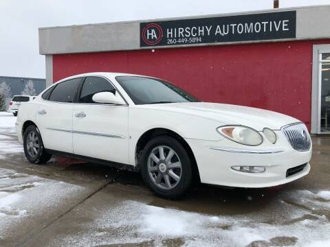 2009 Buick LaCrosse for sale at Hirschy Automotive in Fort Wayne IN