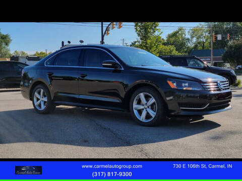 2013 Volkswagen Passat for sale at Carmel Auto Group in Indianapolis IN