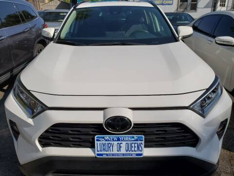 2019 Toyota RAV4 for sale at LUXURY OF QUEENS,INC in Long Island City NY